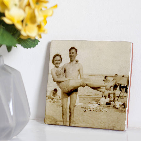 Personalised Glazed Ceramic Photo Tile