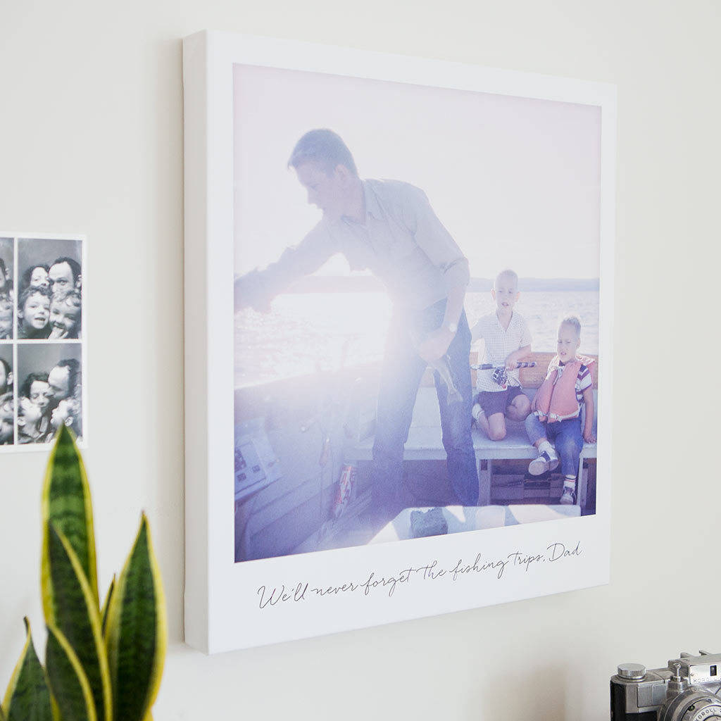 Personalised Giant Polaroid Style Canvas