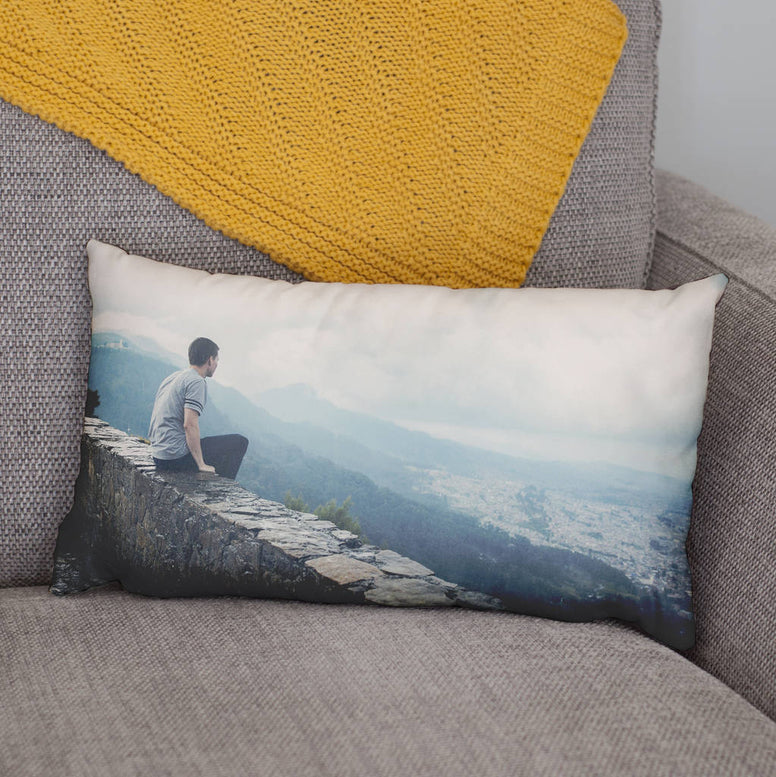 Personalised Rectangular Photo Cushion