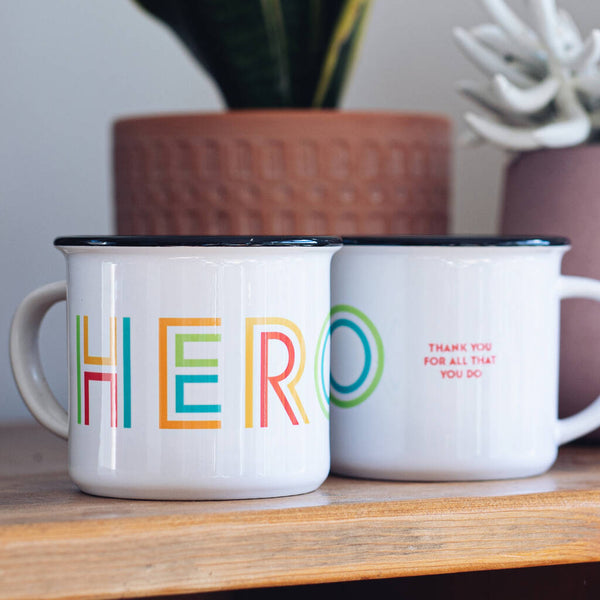 Personalised Rainbow Hero Mug