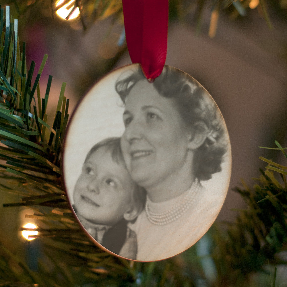 Personalised Vintage Photo Christmas Decoration