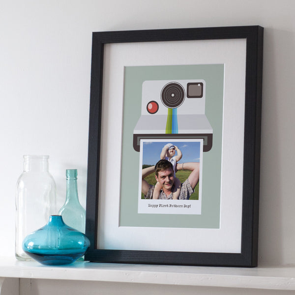 Personalised Retro Camera Photo Print