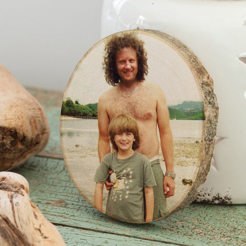 Personalised Favourite Photo on Wood