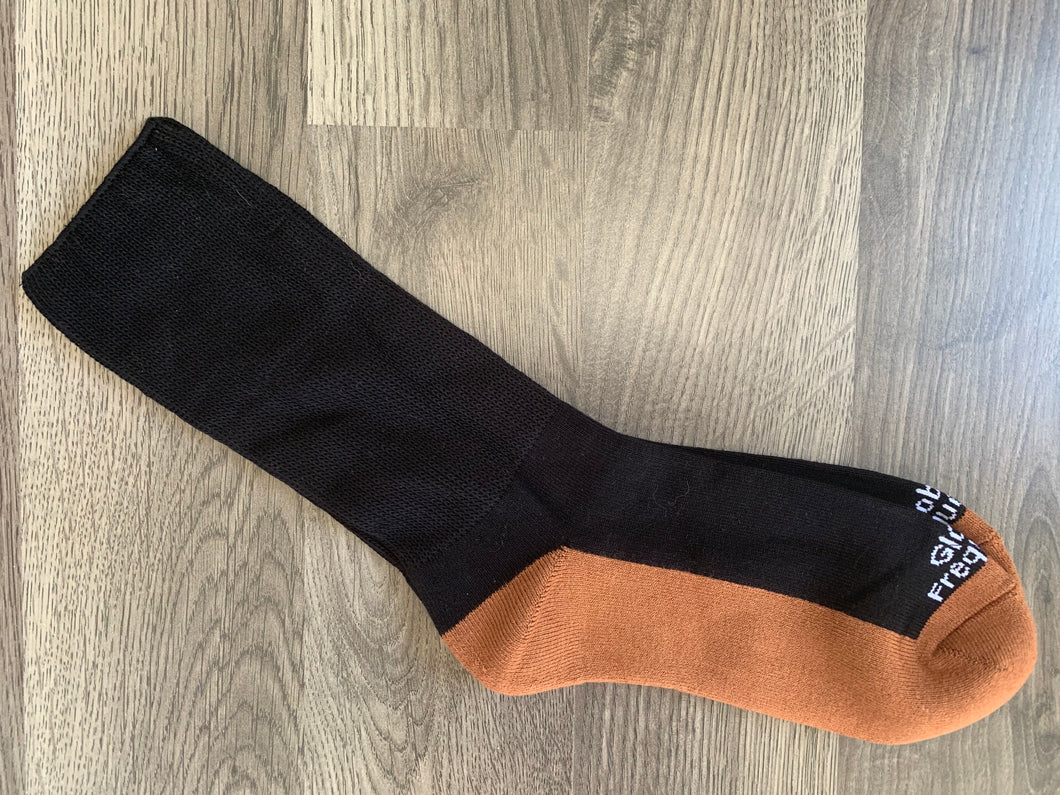 Frequency Infused Copper/Bamboo Crew Socks