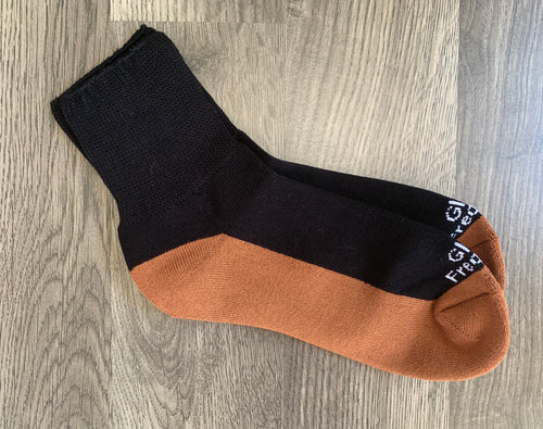 Frequency Infused Copper/Bamboo Mini Crew Socks