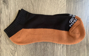 Frequency Infused Copper/Bamboo No Show Socks