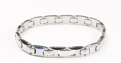 Tungsten Women's Bracelet With Frequency Pyramid Style