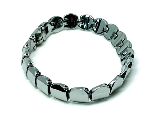 Tungsten Women's Oval Bracelet With Frequency