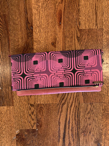 Foldover Colorful Clutch