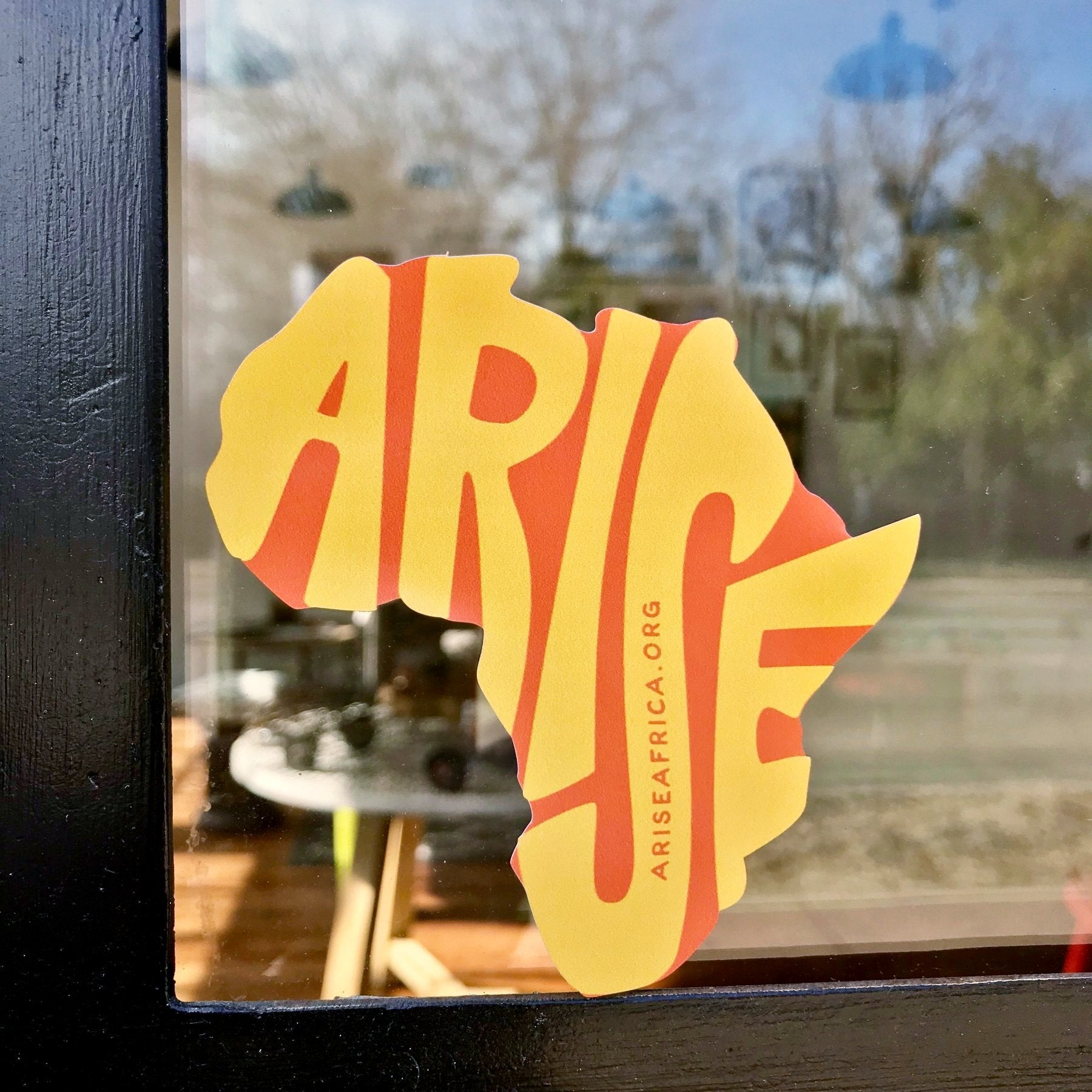 Arise Continent Sticker