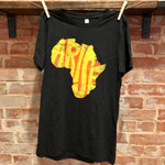 Continent Short Sleeved T-Shirt - Adult