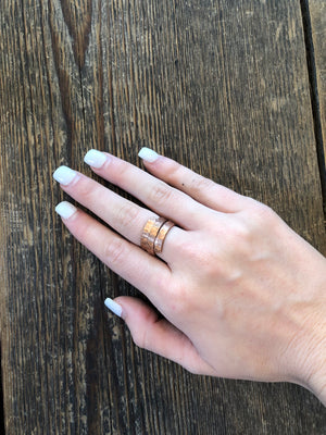 Copper Ring - Wire Wrap