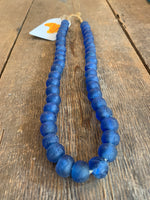 Glass-Beaded Necklace (Chunky Strand)