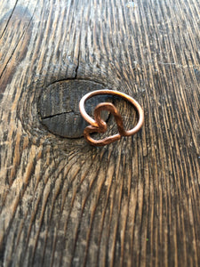 Copper Ring - Heart