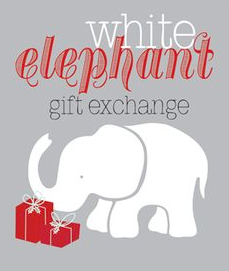 Help fund the White Elephant Gift Exchange