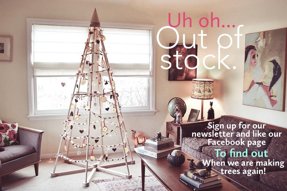 Modern Wood Christmas Tree