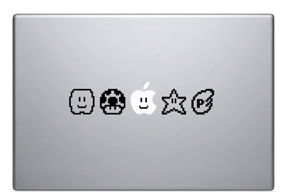 The Decal Guru MacBook Sticker