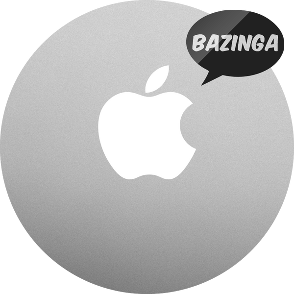 BAZINGA MacBook sticker and MacBook decal. The Big Bang Theory BAZINGA decal.