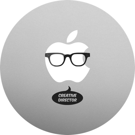 Creative Director MacBook sticker. MacBook decals and stickers.