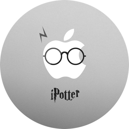 Harry Potter MacBook sticker and decal. MacBook decals for your Mac.