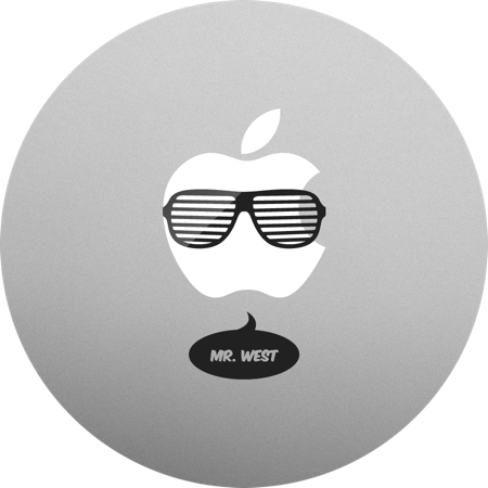 Kanye West MacBook sticker. MacBook decals and stickers.