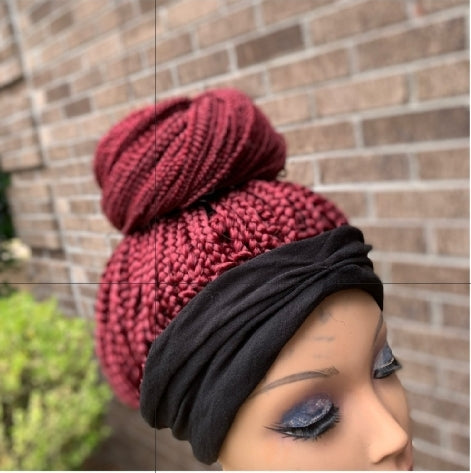 Crochet Braided Bun