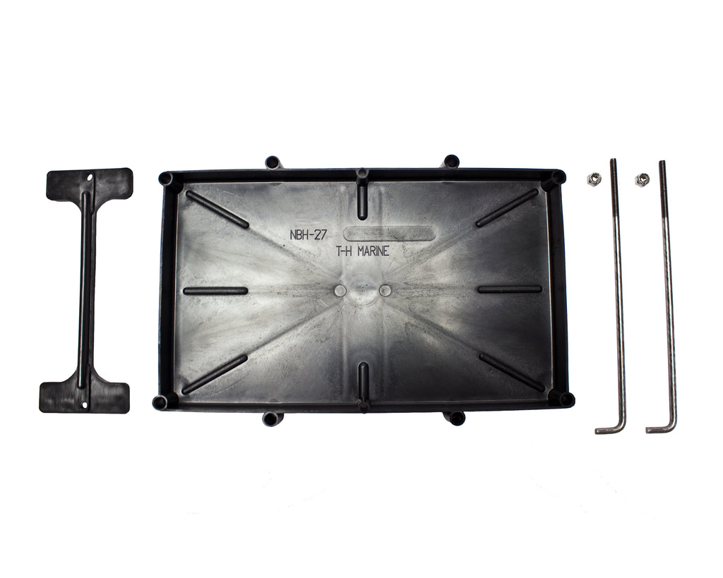 Battery Tray - 27 Series with Hold Down