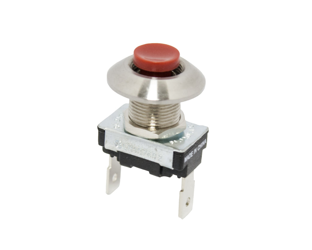 Horn Switch - Push Button, Red