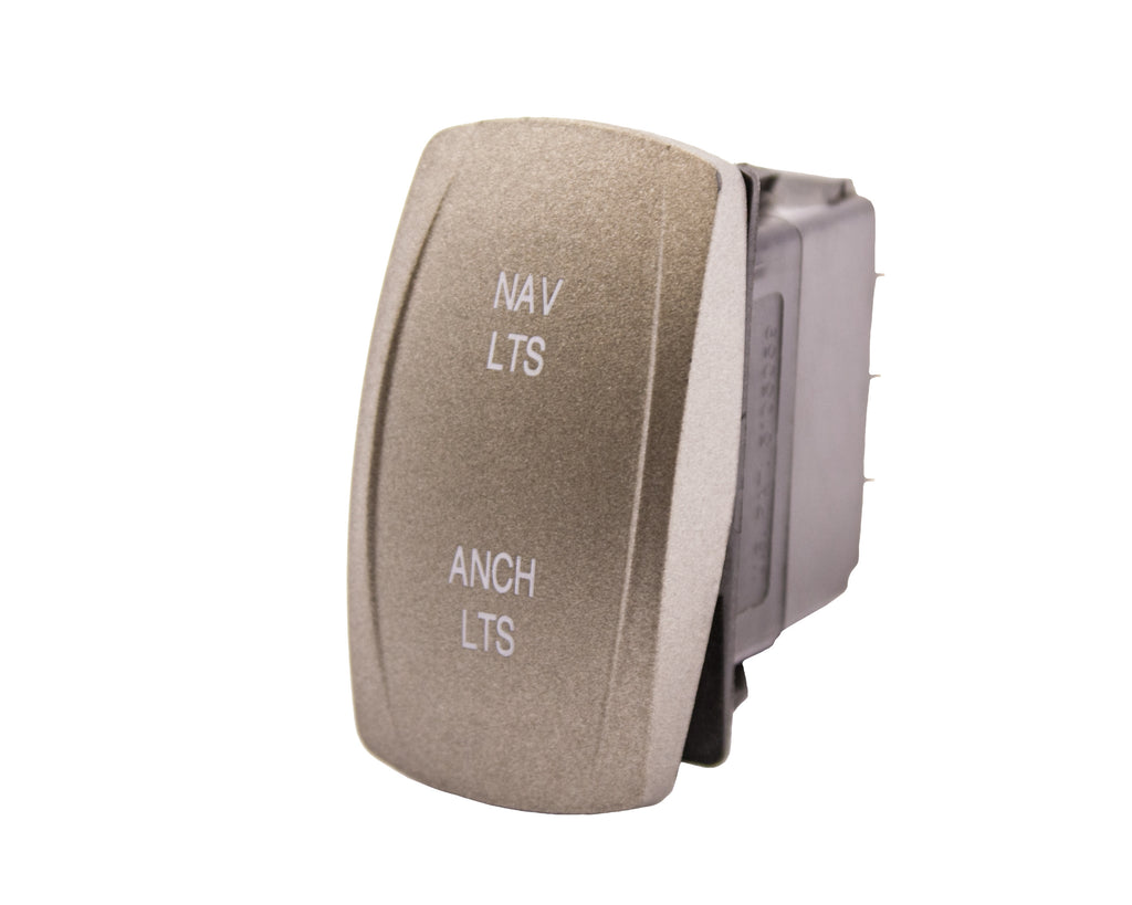 Rocker Switch Cap / Actuator Only - Navigation / Anchor - Tan