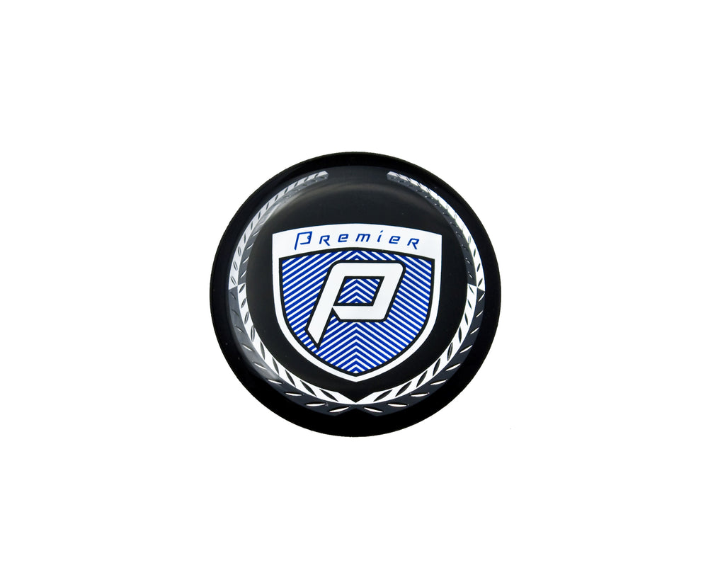 Round Premier Emblem for Steering Wheel