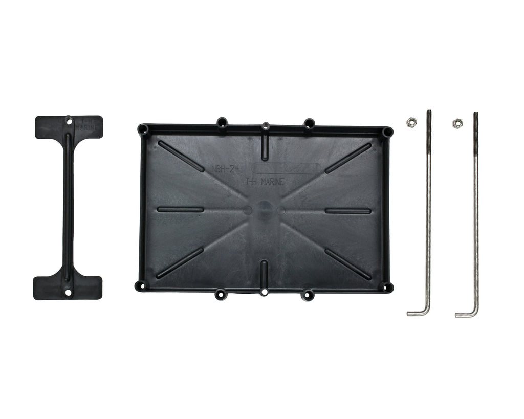 Battery Tray - 24 Series with Hold Down