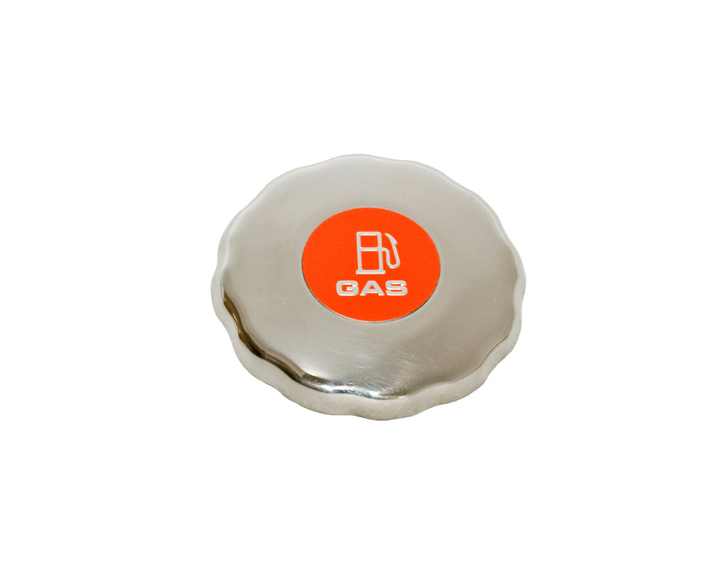 Gas Filler Cap - Chrome - For EPA Compliant Systems Only