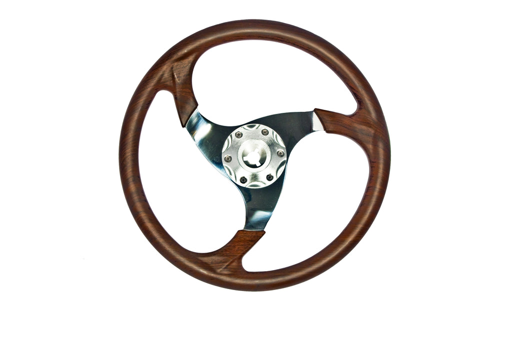 Steering Wheel - Hickory 3 Spoke, 2013