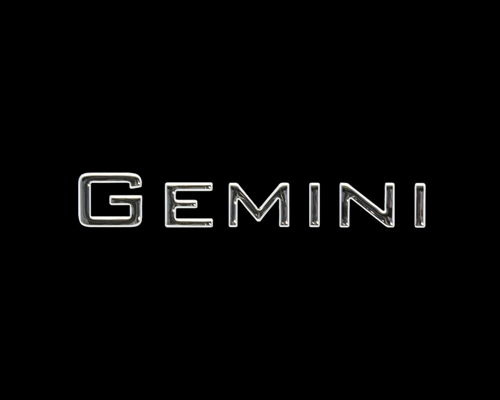 Model Designation Decal on Helm of Gemini