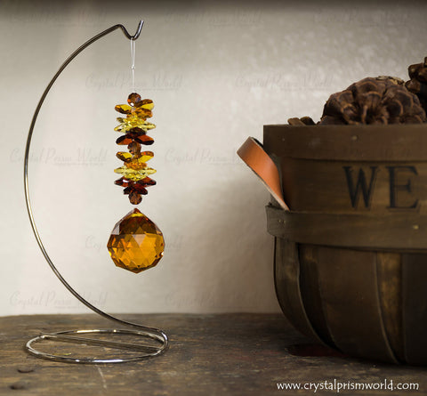 Crystal Fall Holiday Suncatcher | by Crystal Prism World