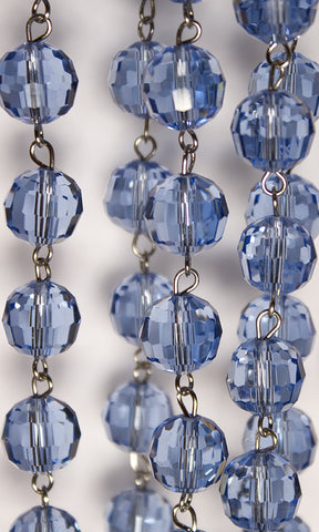 Blue Bead Chain | Item #B0047 - Crystal Prism World