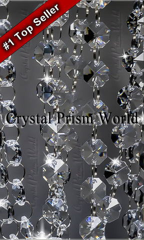 Crystal Garland Chandelier Chain 6ft | Item #C9016