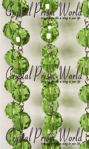 Green Bead Chain | Item #R5963 - Crystal Prism World
