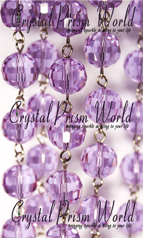 Lilac Bead Chain | Item #L0990 (Out of Stock) - Crystal Prism World