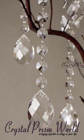 Pendalogue - 10Pc, Hanging Crystal Wedding Pendants | Item #W8798