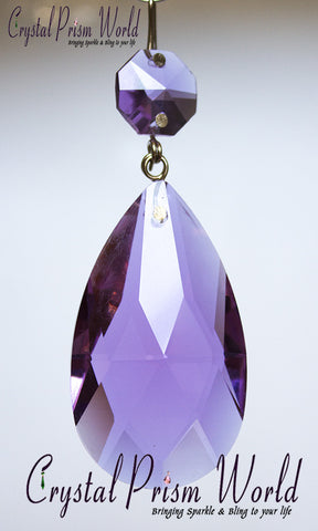 Teardrop - Lilac Teardrop Prism | Item #G66G (Out Of Stock)