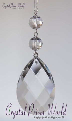 Teardrop - Swiss Double Beaded Prism | Item #TX36B (2 Sizes)