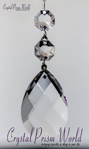 Teardrop - Swiss Double Jewel Prism | Item #TX36M (2 Sizes)