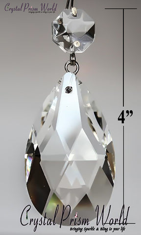 Clear Teardrop Chandelier Prism | Item #WX4574