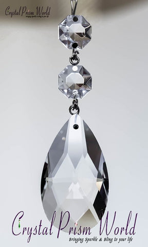 Teardrop - Teardrop Double Jewel Prism | Item #TX36P (2 Sizes)
