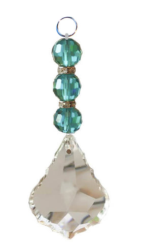 Aqua Pendant Model #G6598 - Crystal Prism World