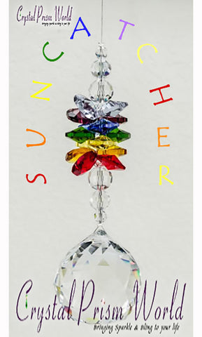 Window Crystals - Chakra Suncatcher | Item #R611 (Out Of Stock)