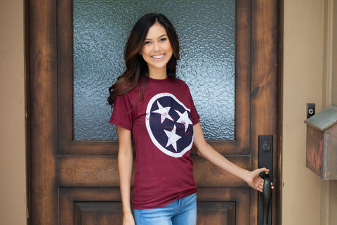 Tennessee Tri Star T shirt