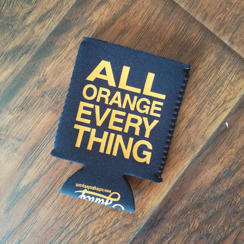 All Orange Everything Koozie