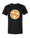 TN Flag - Orange on Black  T-Shirt - Nothing Too Fancy